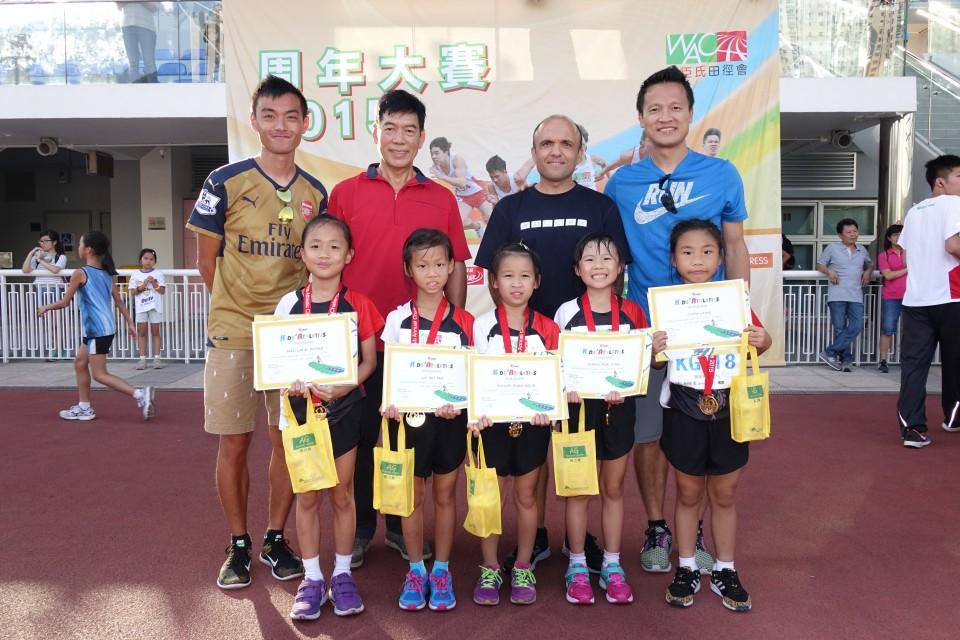 屈臣氏田徑會於1989年成立,旨在鼓勵本地青少年積極參與有益身心的田徑活動,為他們提供本地及海外訓練