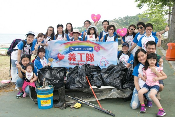 PARKnSHOP Hong Kong Beach Clean-up Day 2016