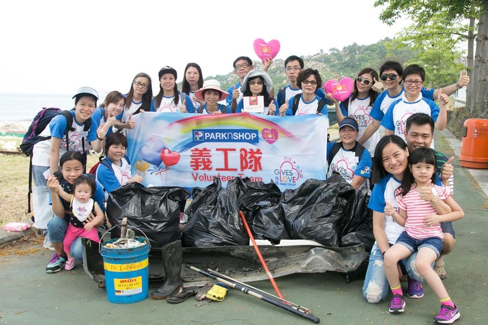 PARKnSHOP Hong Kong Beach Clean-up Day 2016